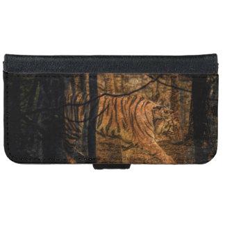 Forest Woodland wildlife Majestic Wild Tiger iPhone 6 Wallet Case