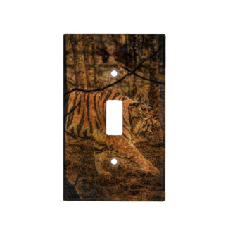 Forest Woodland wildlife Majestic Wild Tiger Light Switch Cover