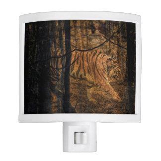 Forest Woodland wildlife Majestic Wild Tiger Night Lite