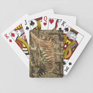 Forest Woodland wildlife Majestic Wild Tiger Playing Cards