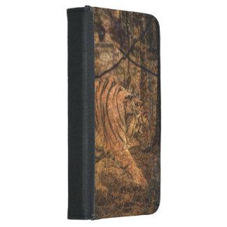 Forest Woodland wildlife Majestic Wild Tiger Samsung Galaxy S5 Wallet Case
