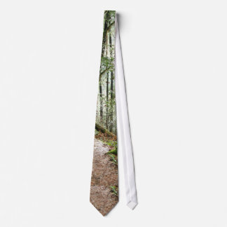 Forest Woods Leaves Trees Hiking Scenic Oregon Tie