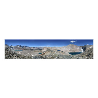 Forester Pass and Center Basin - Sierra Photo Print