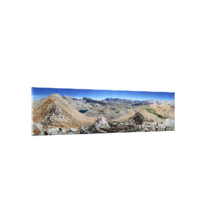 Forester Pass to Mt Whitney - John Muir Trail Canvas Print