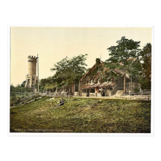 Foresters' House and Soldiers' Memorial, Jena, Thu Postcard