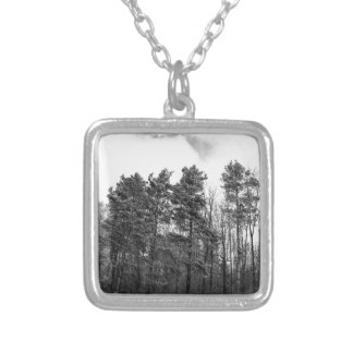 Forestry Silver Plated Necklace