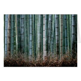 Forêt en bambou, Japon Carte De Correspondance
