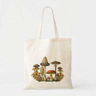 Forêt Fourre-tout de champignon Sac En Toile Budget