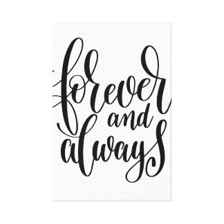 Forever & Always Canvas