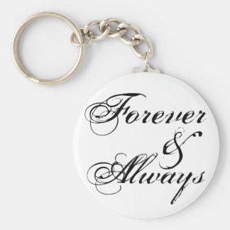 Forever & Always Keychain