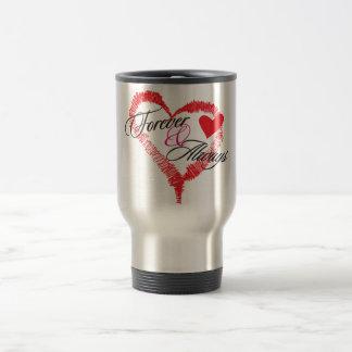 Forever & Always Stainless Steel Travel Mug