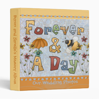Forever and a Day Wedding Memory Binder