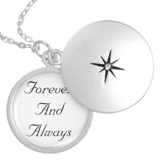 Forever And Always Neckless Locket Necklace