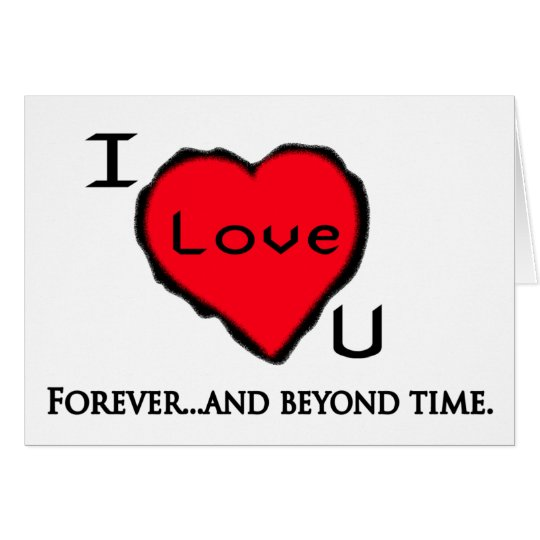 Forever and beyond card