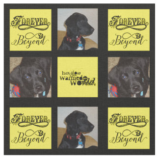 Forever and Beyond Pet Photos Custom Fabric