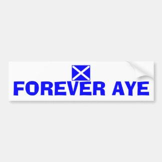 Forever Aye Scottish Independence Flag Sticker