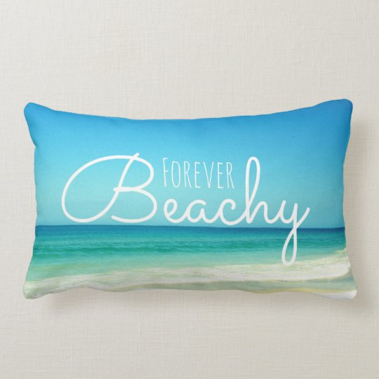 Forever Beachy Blue Pillow