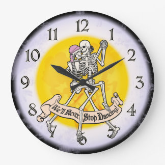Forever Dancing Large Clock