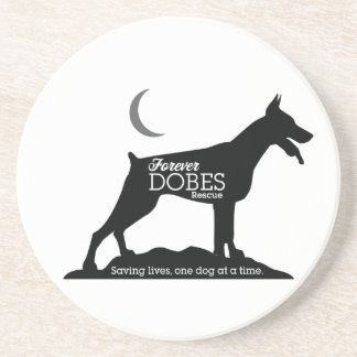 Forever Dobes Coaster