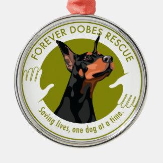 Forever Dobes Ornament