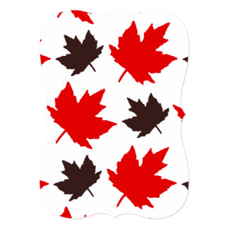 Forever Faithful Canada Day Party Invitation