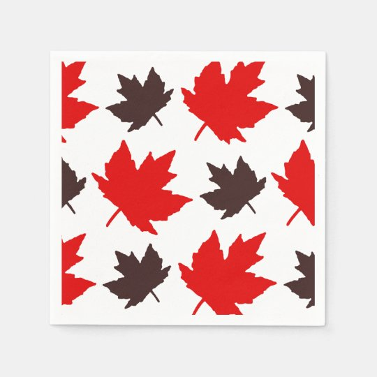 Forever Faithful Canada Day Party Paper Napkins