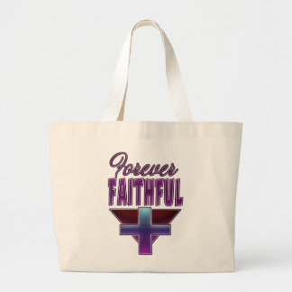 Forever Faithful Christian Jumbo Tote