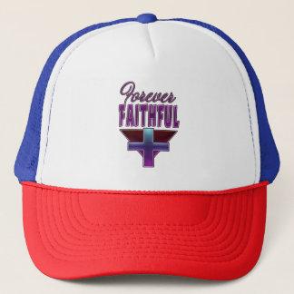 Forever Faithful Christian Trucker's Cap