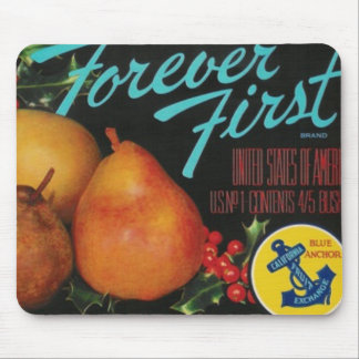 forever first pears mousepad