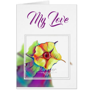 Forever Flower Greeting Card