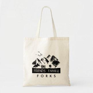 Forever Forks Tote Bag