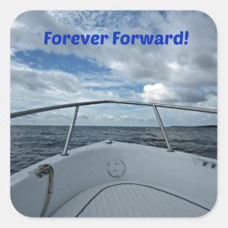 Forever Forward! Square Sticker
