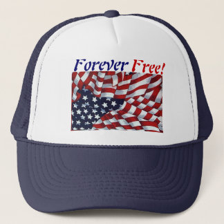 FOREVER FREE! by SHARON SHARPE Trucker Hat