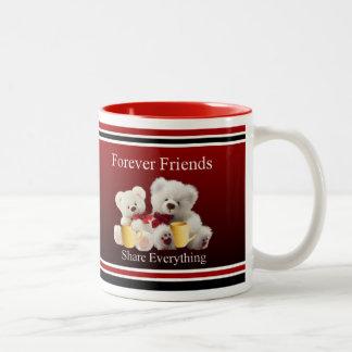 Forever Friends Mugg Two-Tone Coffee Mug