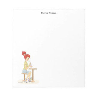 Forever Friends  Soda Girl Notepad
