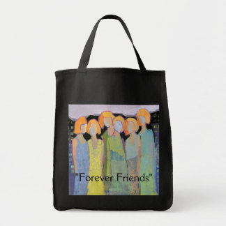 """Forever Friends"" Tote Bag"
