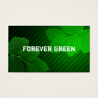 Forever Green Business Cards