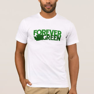 Forever Green, Washington State T-Shirt