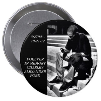 Forever In Memory Charley Ford Button