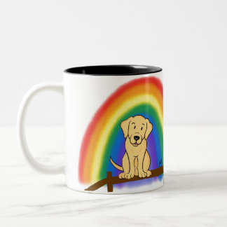 Forever in my Heart (YL) Two-Tone Coffee Mug