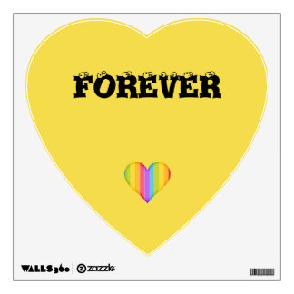 Forever Love All Wall Decal