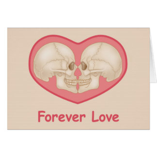 Forever Love - funny and clever card, blank Card