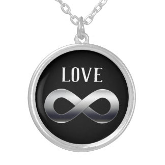 Forever LOVE Silver Plated Necklace