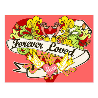 Forever Loved  Mother's Day Postcard
