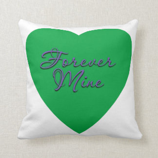 Forever Mine Throw Pillow