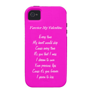 Forever my valentine iPhone 4/4S covers