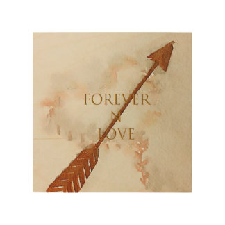 Forever N Love Wood Wall Art
