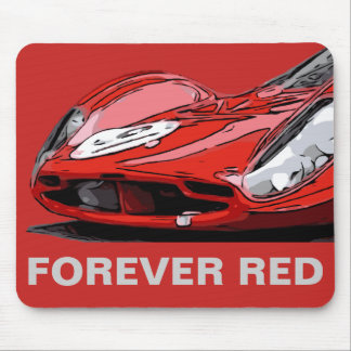 FOREVER RED MOUSE PAD
