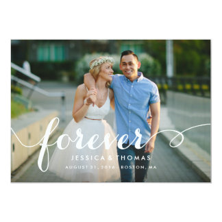 Forever Save the Date Overlay Card