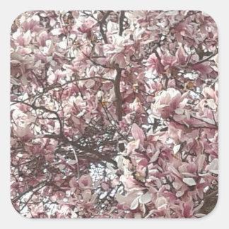 Forever Spring Magnolia Stickers